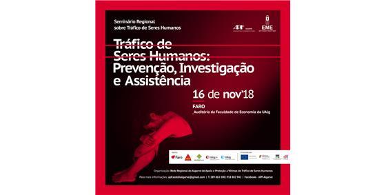Seminário regional- tráfico de seres humanos