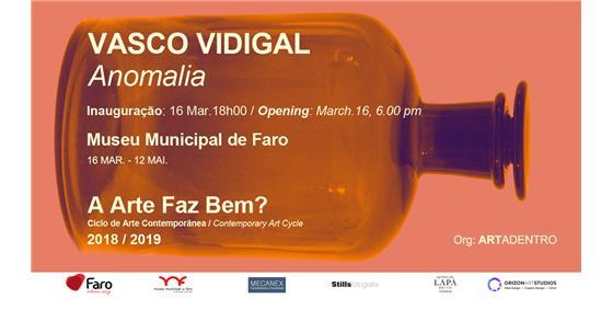 Exposição 'Anomalia' de Vasco Vidigal